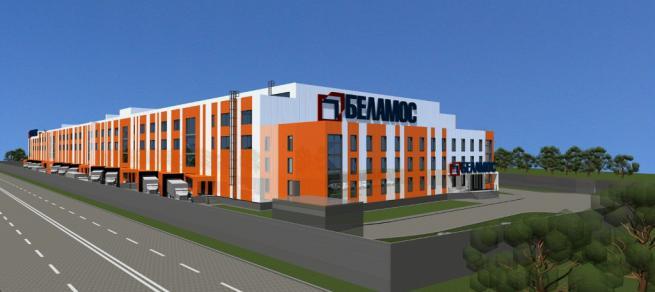 Проект складского комплекса - общая площадь18 226 кв. метров