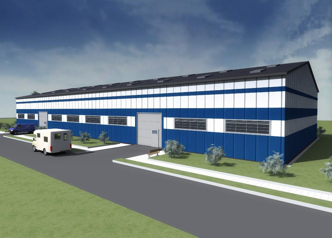 Проект склада на 1500 кв. метров