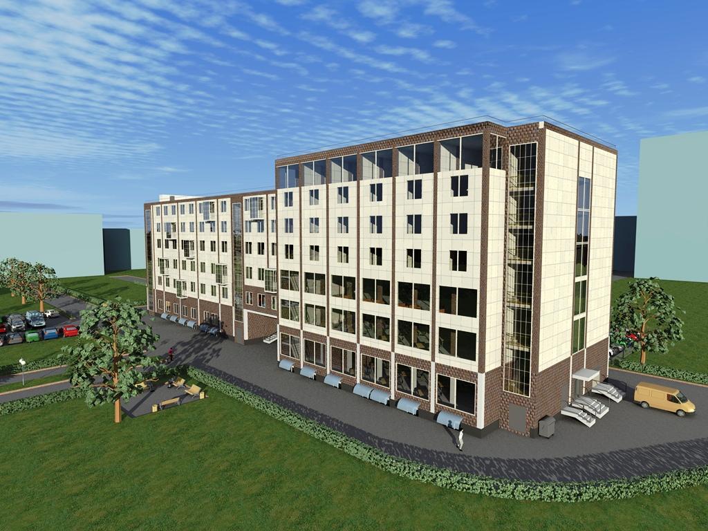 Готовый проект гостиницы 7 этажей - Общая площадь 11000 м2