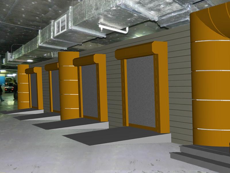 Проект автомойки на 5 постов в подземном паркинге