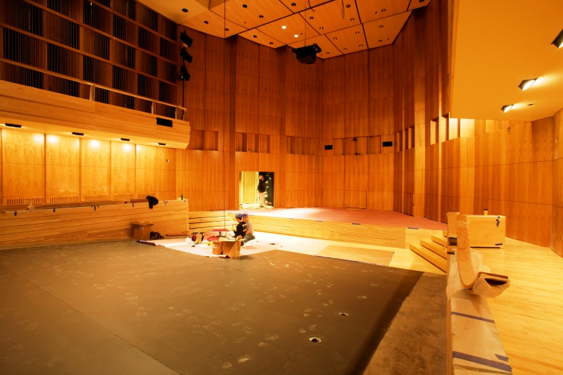 проектирование концертного зала