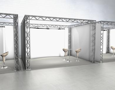 проектирование выставочных площадей