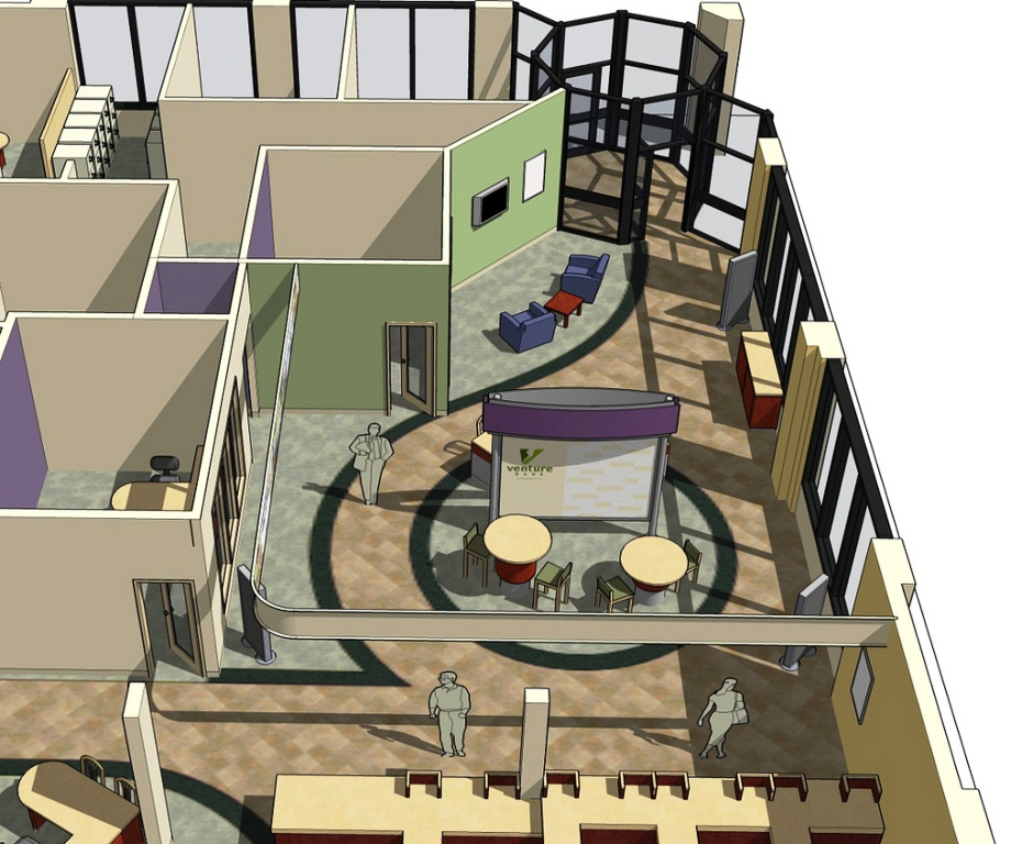 проектирование помещений банка