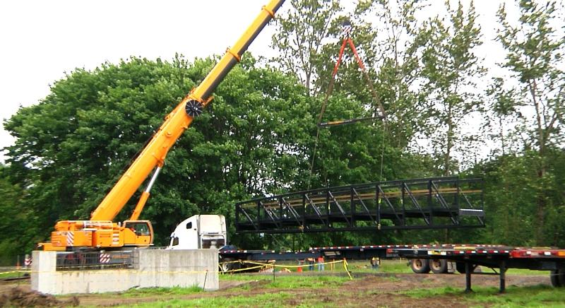 строительство моста из металлоконструкций