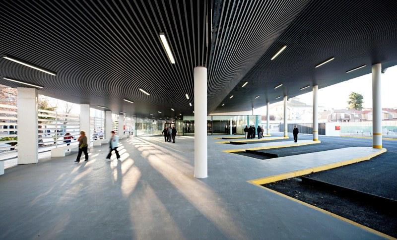проектирование автобусного вокзала