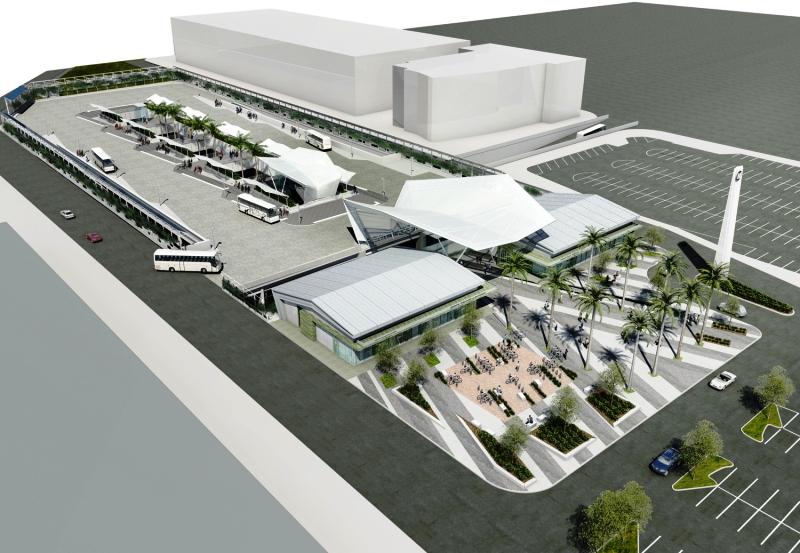 проектирование автовокзала