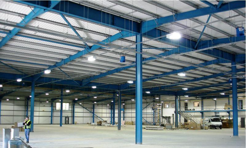 строительство фабрик под ключ