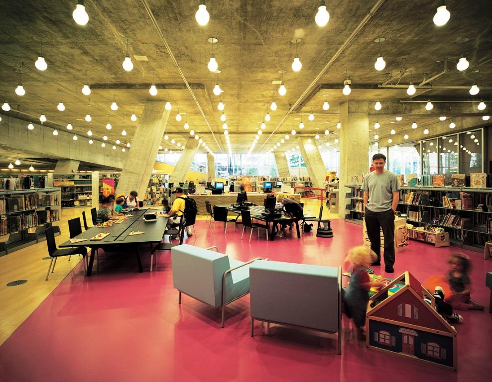 проектирование городских библиотек