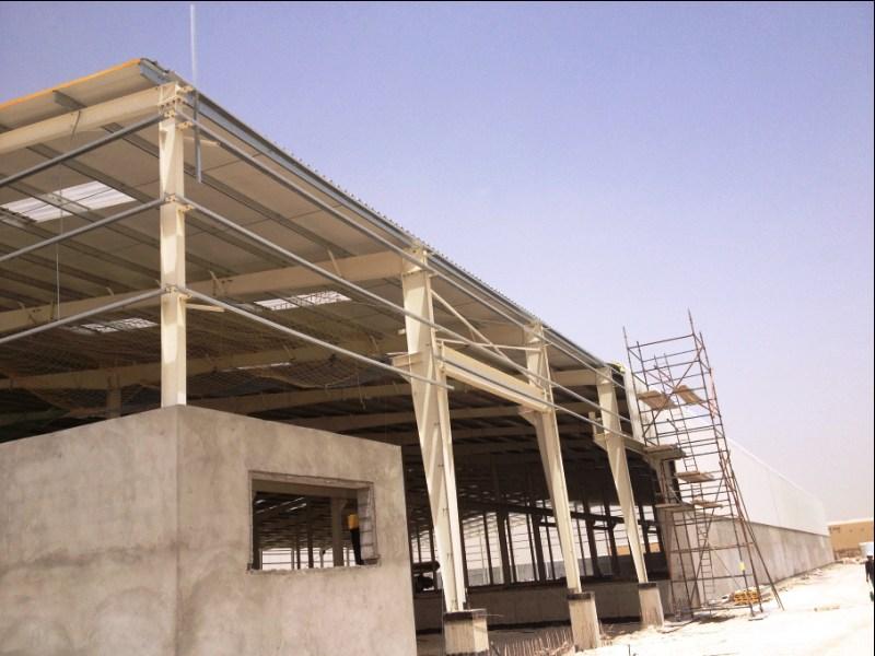 строительство логистического комплекса