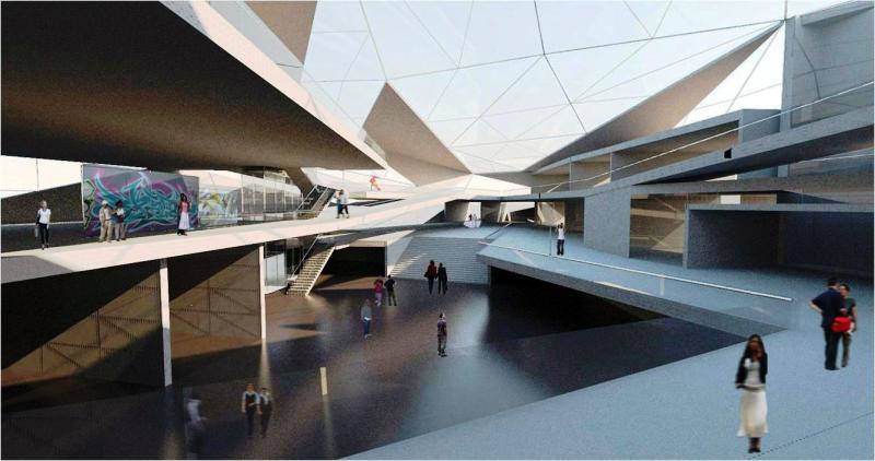 проектирование здания музея