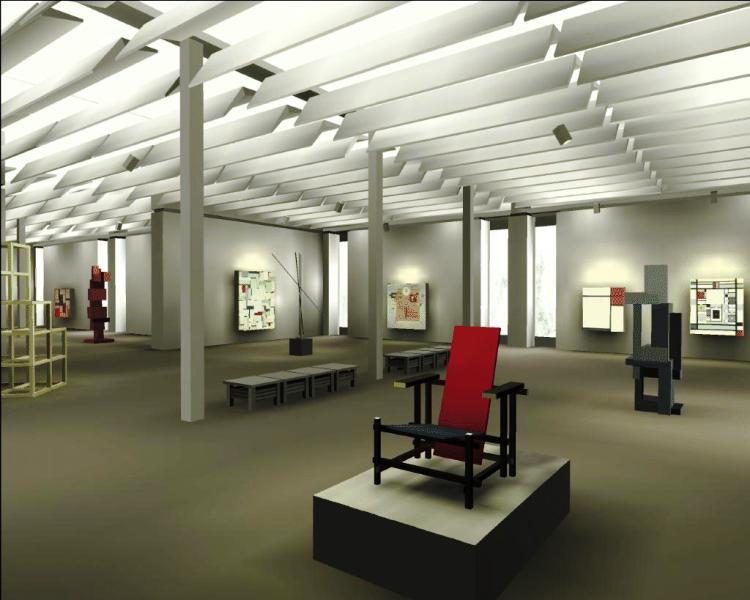 проектирование помещений музея