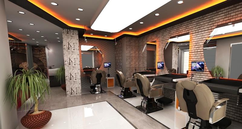 проекты парикмахерских