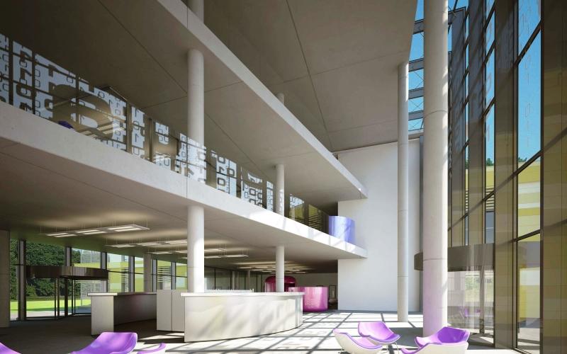строительство института