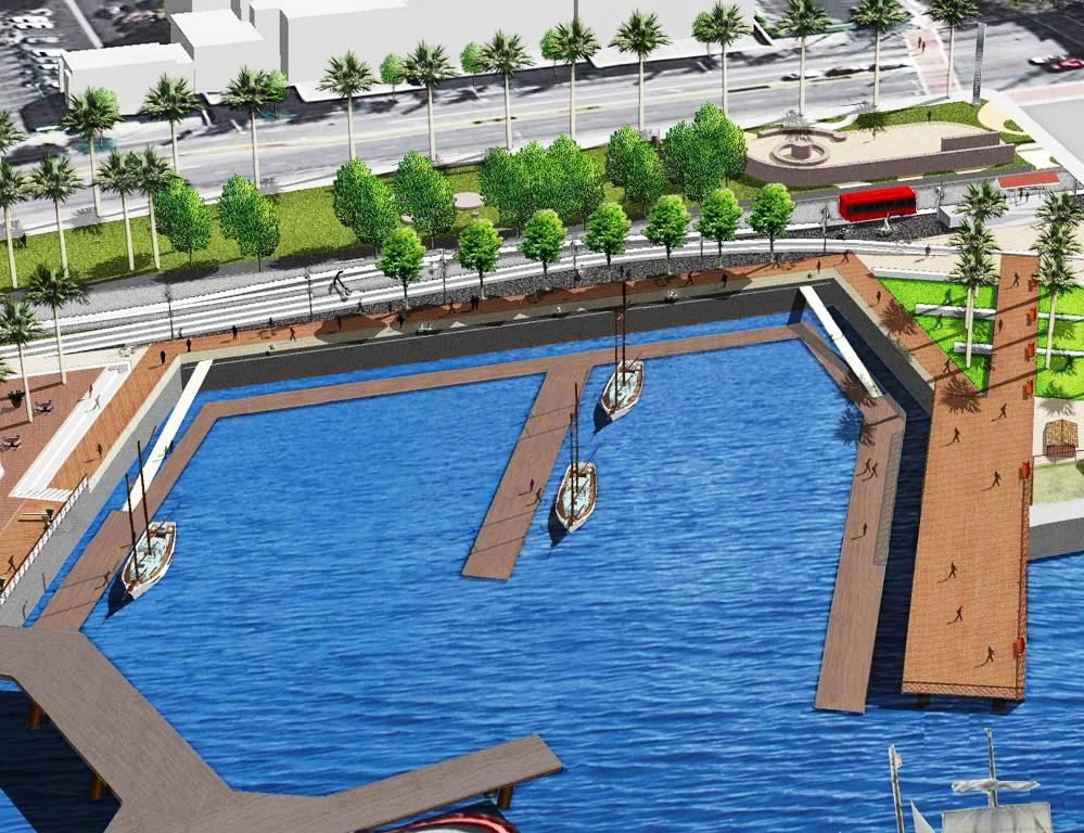 проектирование порта